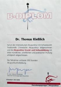 Akupunktur Grund- und Vollausbildung